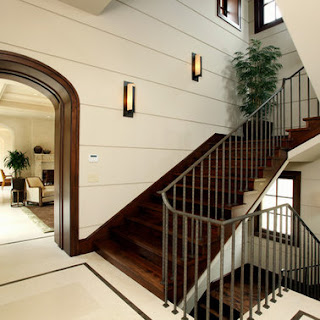 Desain Tangga Rumah Mewah Kayu