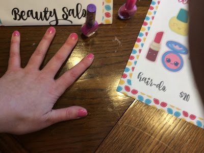 pretend play manicure
