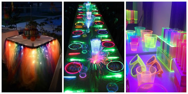 Neon Party Decoration and Accesories