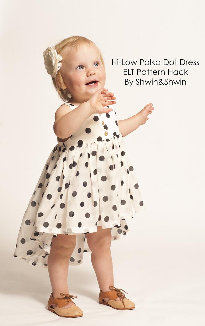 Hi Low Polka Dot Dress Summer Collection Shwin And Shwin