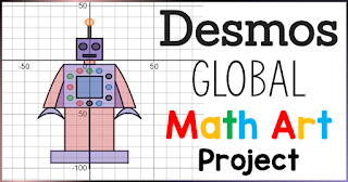 While you're stuck at home with your own teenagers because of COVID-19 social distancing, or have been given the monumental task of teaching your math students remotely, what better way to engage than with a little math+art? Desmos has extended the deadline of their Global Math Art Contest to April 30, 2020 so that more students can participate as part of their distance learning. In this post are quick links, tutorials and example to get going on graphing with Desmos today.