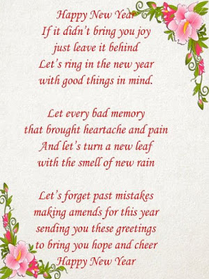 HAPPY NEW YEAR POEM