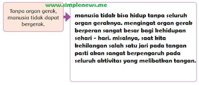 Tanpa organ gerak, manusia tidak dapat bergerak www.simplenews.me