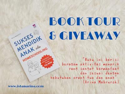 Book tour dan giveaway buku sukses mendidik anak ala homeschooling