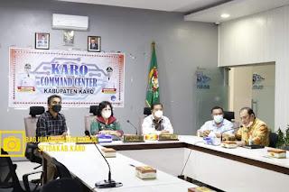 Bupati Karo Launching Aplikasi SILABA dan SILATIH