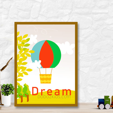 Dream baby nursery and kids room wall frame decor in port Harcourt, Nigeria