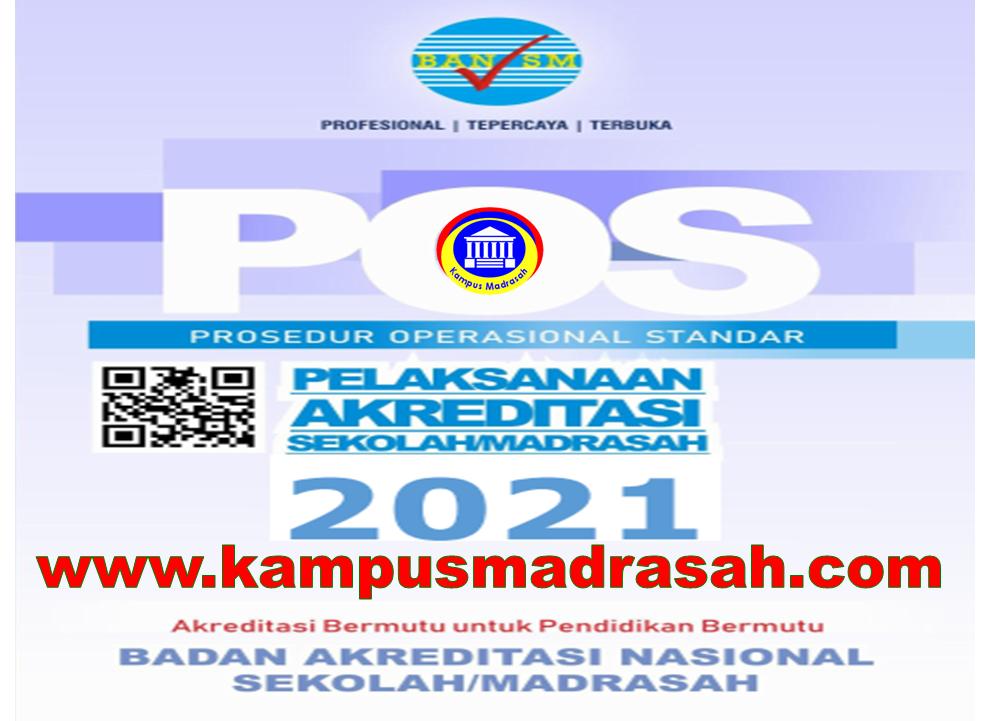 POS Akreditasi Sekolah/Madrasah Tahun 2021