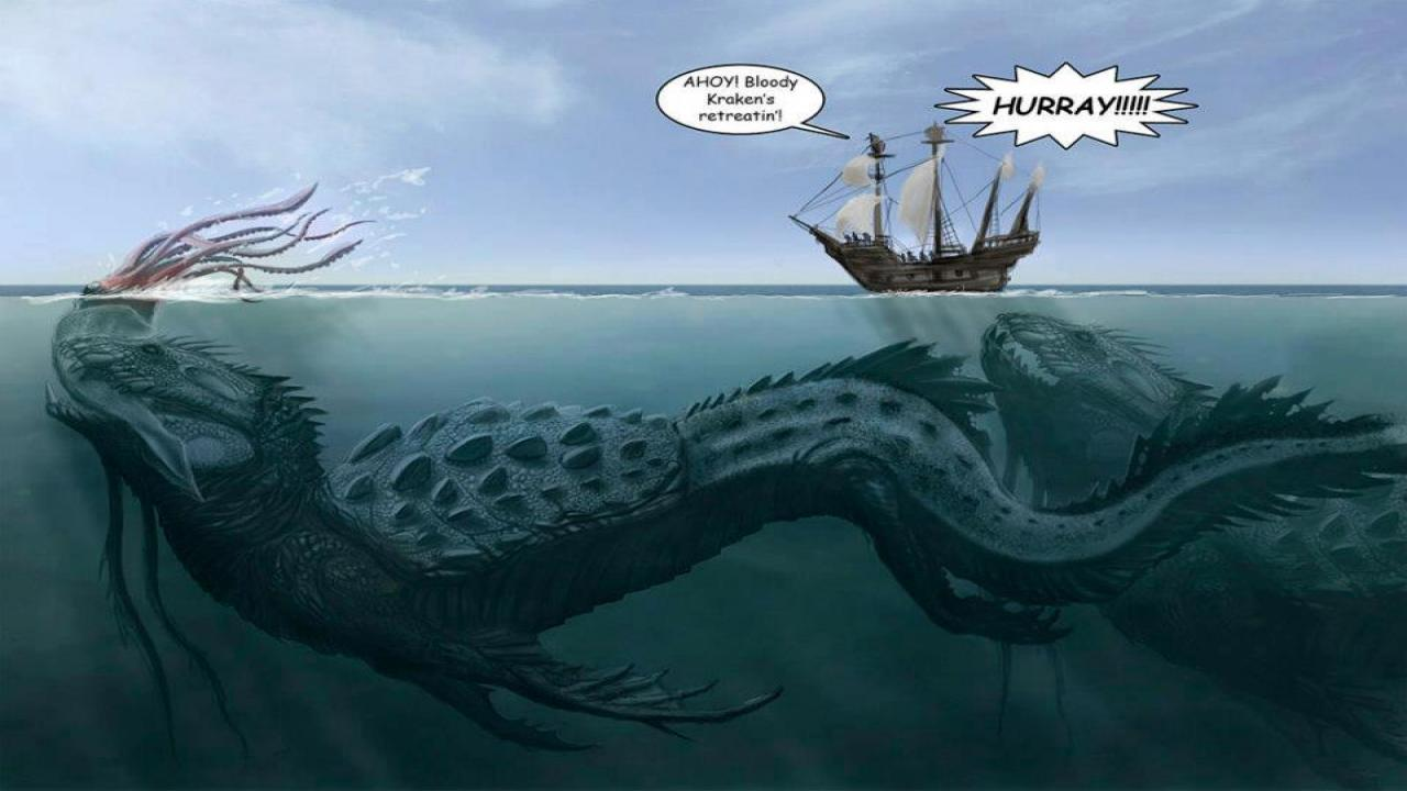 Worlds Beyond Earth: On Sea Monsters