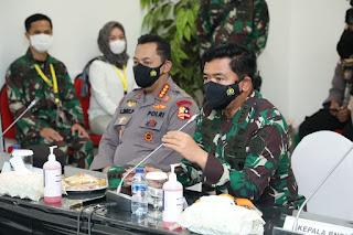 Panglima TNI Bangga Atas Dedikasi Nakes dan Non Kesehatan Bantu Pasien Terpapar Covid-19