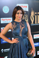 Shriya Saran in Beautiful Transparent Dark Gown IIFA Utsavam Awards 2017 005.JPG