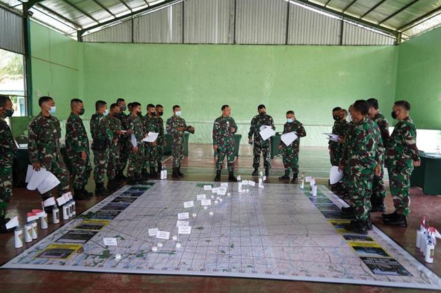 Danrem 022/PT Pimpin Briefing Penyelenggara Latihan Pratugas Yonif 126/KC