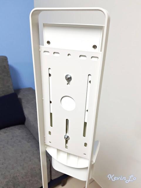 米家無線吸塵器收納立架鎖點符合