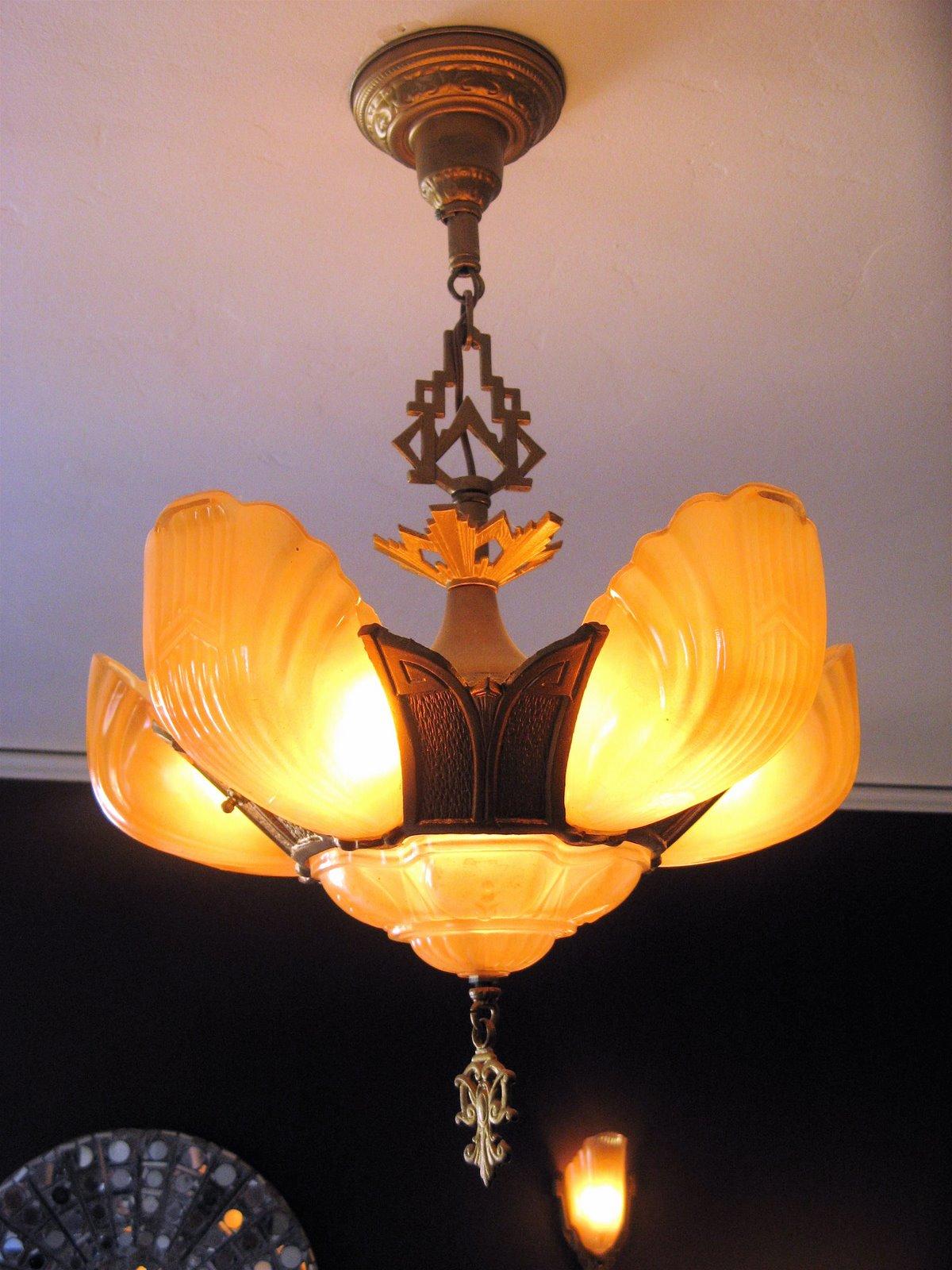 Halogen Lamp and Outdoor Lighting: Art Deco Lighting