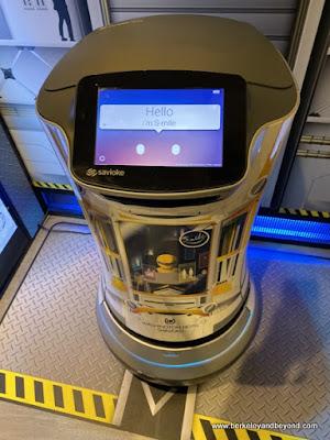 robot valet at Shinjuku Washington Hotel in Tokyo, Japan