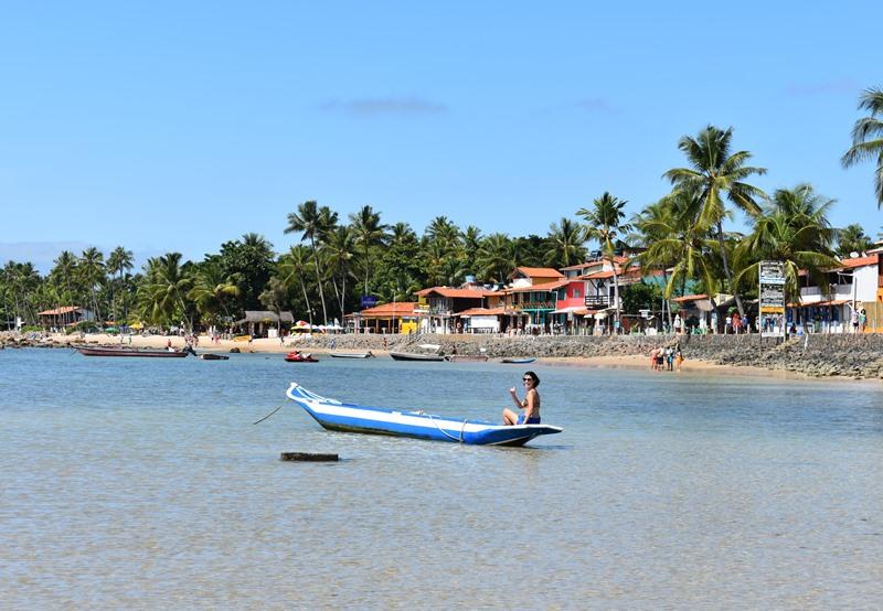 1 Praias de Morro; 2 Passeio Volta a Ilha; 3 Tirolesa; 4 Gamboa; 5 Pôr do sol; 6 Noite em Morro de São Paulo