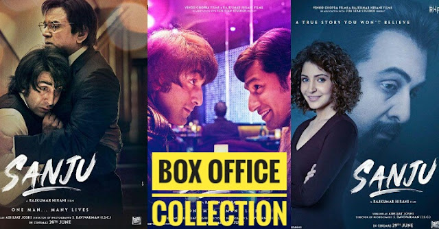 Sanju Box Office Collection Day Wise Worldwide