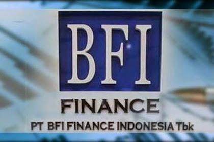 Lowongan Kerja S1 PT BFI Finance Indonesia Tbk Terbuka 5 Posisi Jabatan