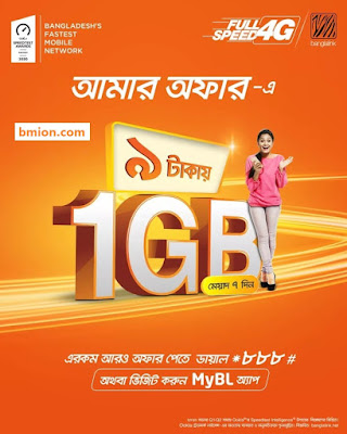 Banglalink Amar Offer - 1GB 9Tk