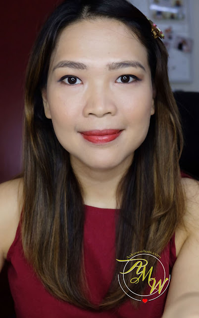 a photo of K-Palette Lasting Semi-Matte Lip Tint Stick shade 01Paprika Red