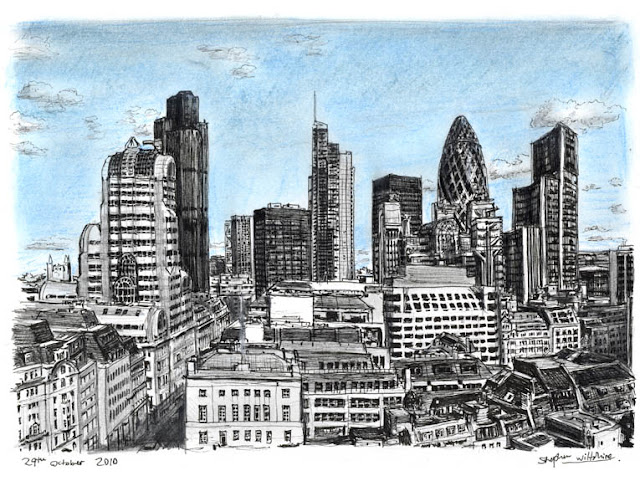 Vista de Londres - Stephen Wiltshire