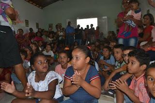 III Natal Comunitário no Sítio Lagoa do Boi - Cacimbinhas- AL.