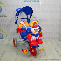 Family F823FT Robot Double Music Baby Tricycle