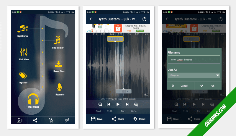 software pemotong lagu android