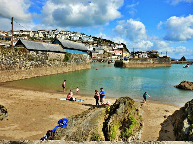 Small beach at Mevagissey, Cornwall