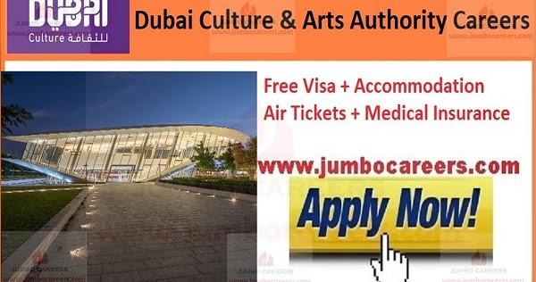 Dubai-Culture-Arts-Authority-Careers  Th P Job For Dubai on computer science, civil engineering, for guyanese, quantity surveyor,