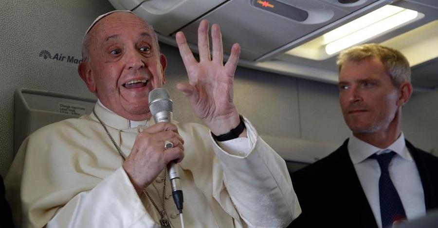 Papa defende mensagem social e diz não temer 'cisma' na Igreja - Portal Spy News