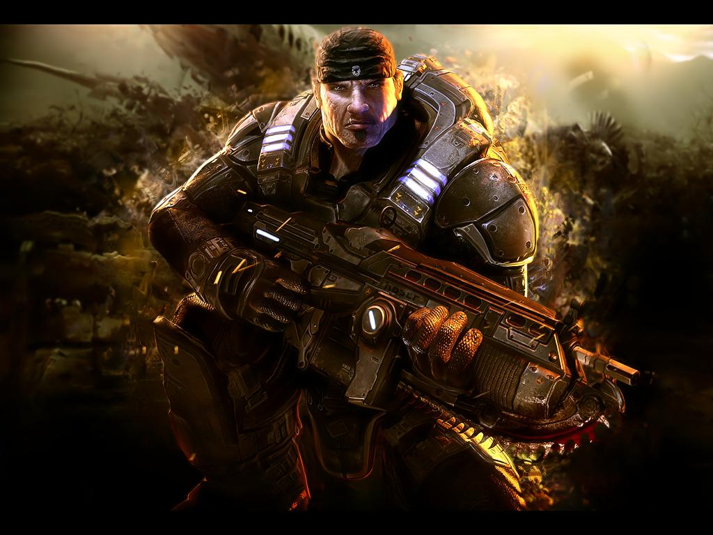 Gears Of Wars 3 Wallpaper: BLACK GAME ERICTJ