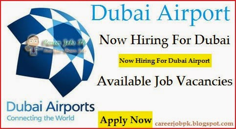 New Opening jobs in Dubai Airport 2016