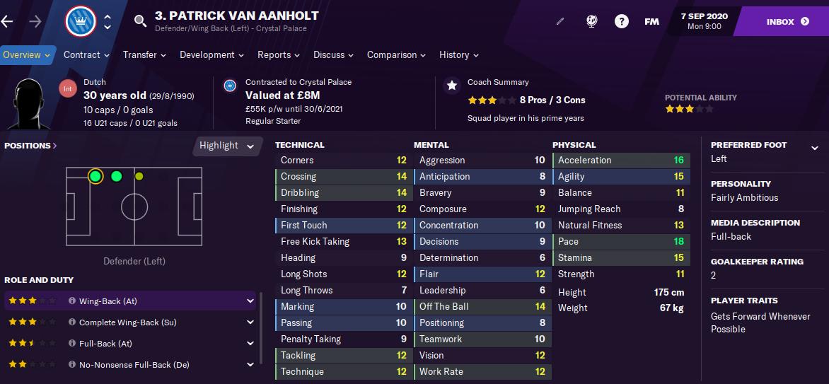 FM21 Van Aanholt