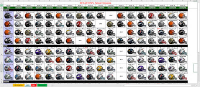 2018 nfl helmet schedule spreadsheet download