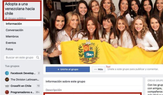 Chilenos adoptan a chicas venezolanas solteras por Facebook