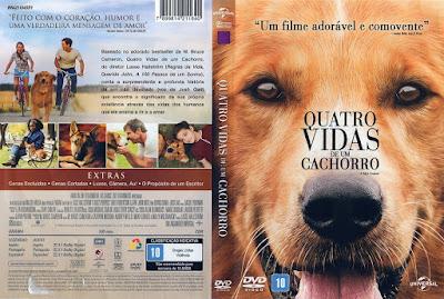 Filme Quatro Vidas De Um Cachorro (A Dog's Purpose) DVD Capa