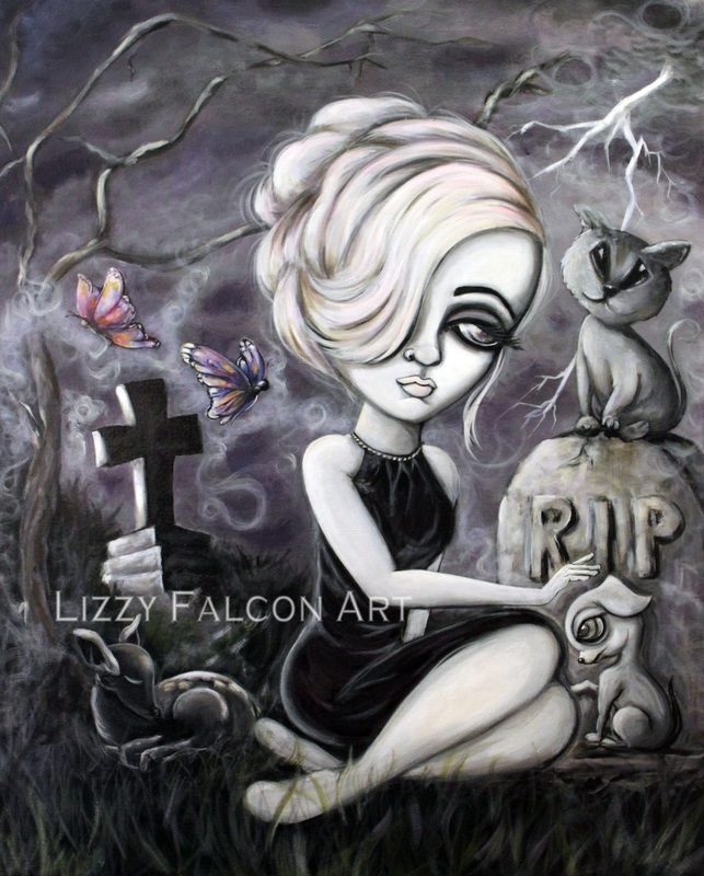 09-Lizzy-Falcon-Paintings-with-Large-Eyes-and-Big-Personalities-www-designstack-co