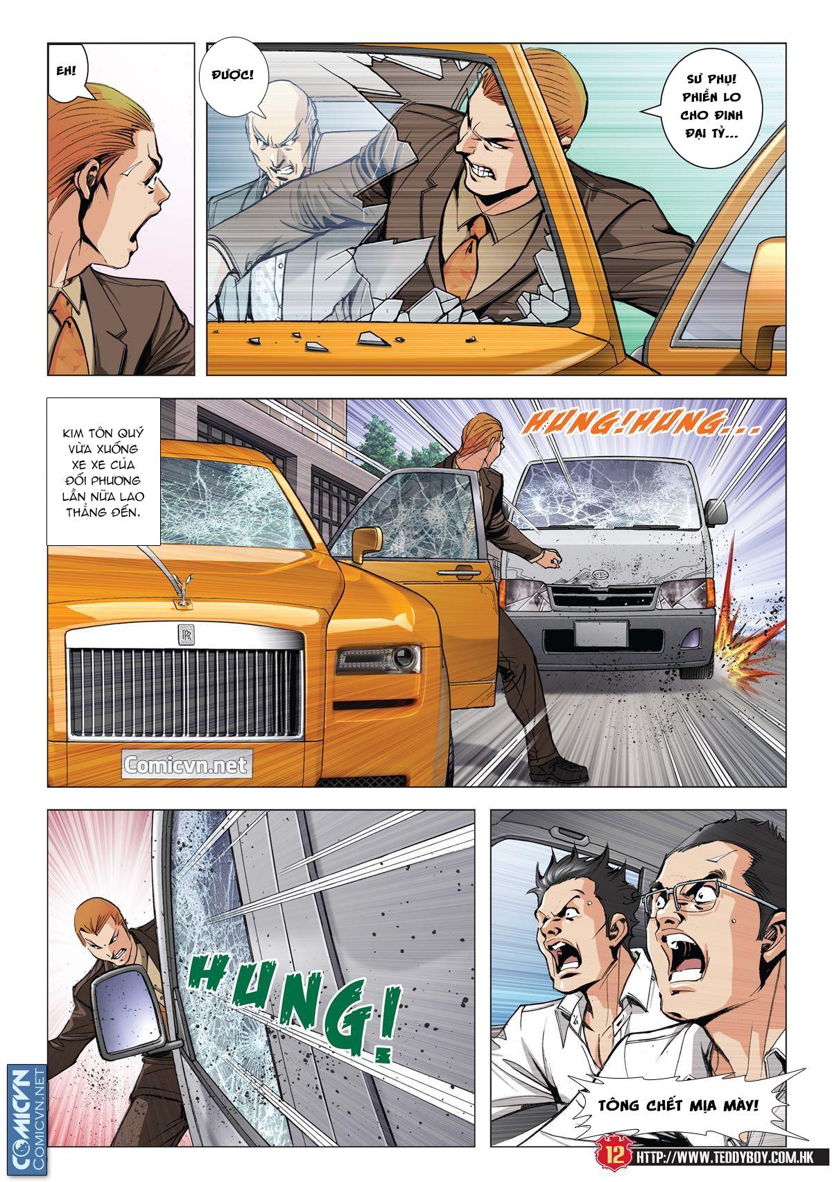 Người Trong Giang Hồ chapter 1997: triệu oánh vs đinh dao trang 10