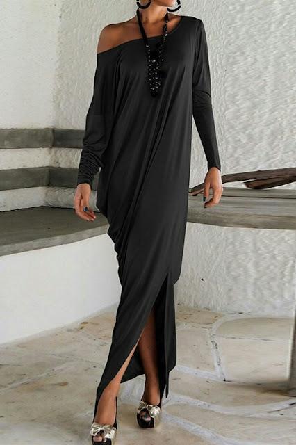 Mixi Dress ones side off shoulder