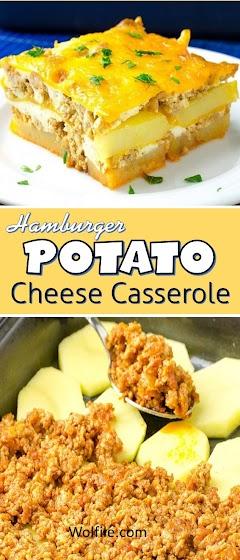 Hamburger Potato Cheese Casserole Recipe