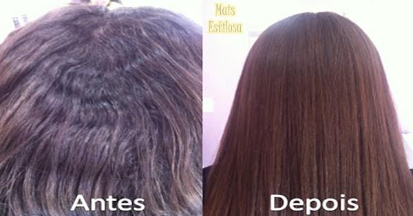 como abaixar a raiz do cabelo