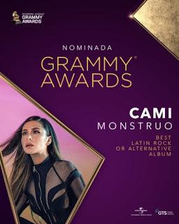 Cami logra nominación para la nueva edición de los Grammy Awards
