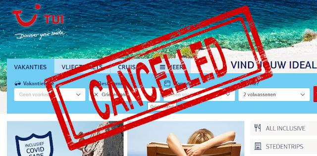 H TUI Ολλανδίας αποφάσισε να τερματίσει τη φετινή σαιζόν για τα ελληνικά νησιά