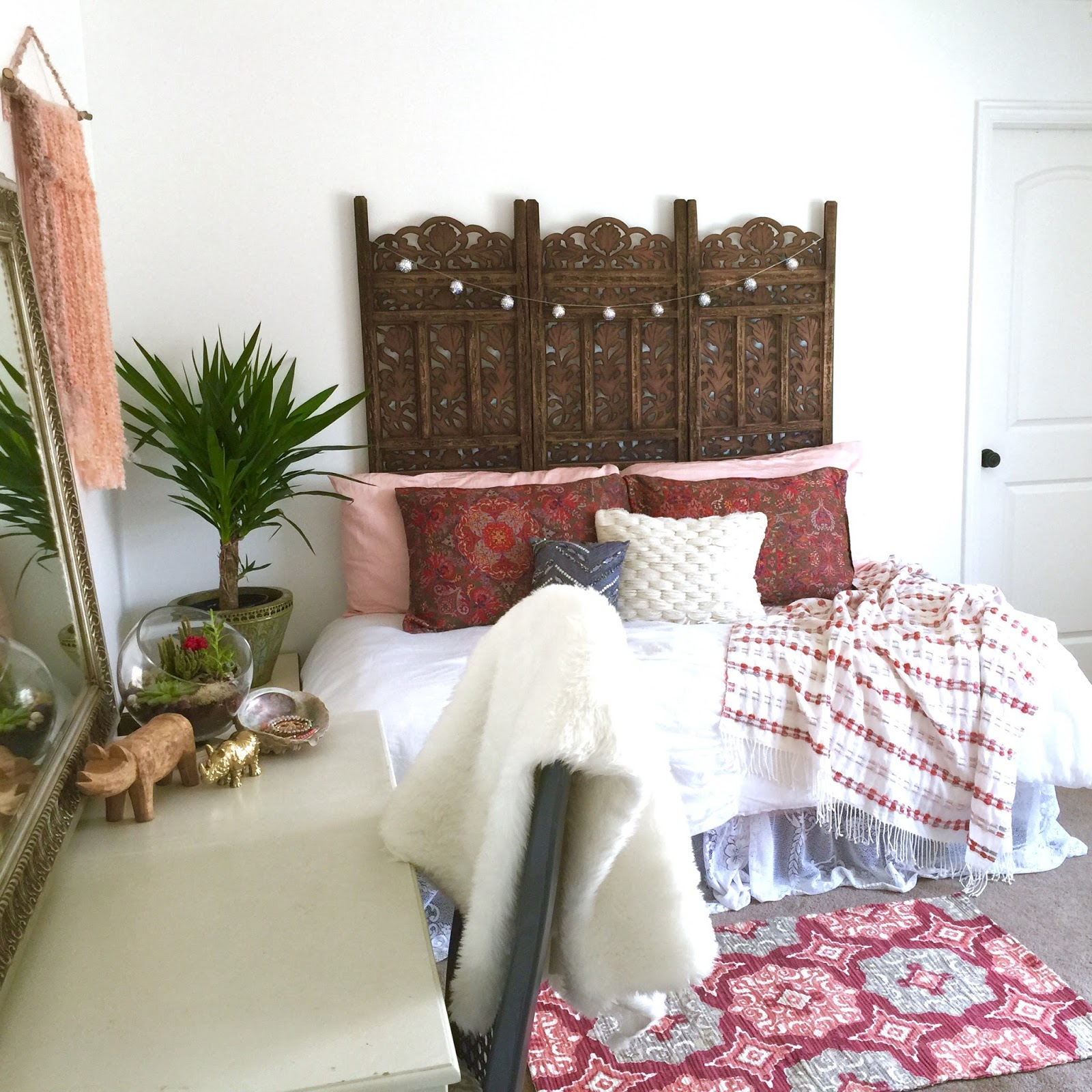 Restlessrisa: BOHO Bedroom