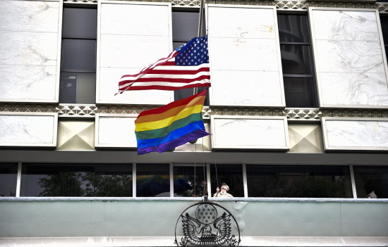 President Joe Biden tells U.S. Embassies to fly Gay Pride Flag on same pole as US flag, revoking Trump's policy