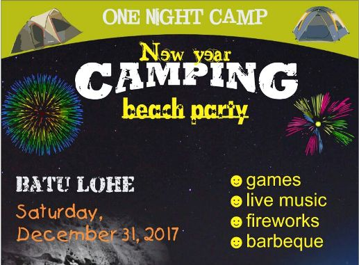 Jangan Lewatkan Paket Camping, Akhir Tahun Di Pulau Selayar