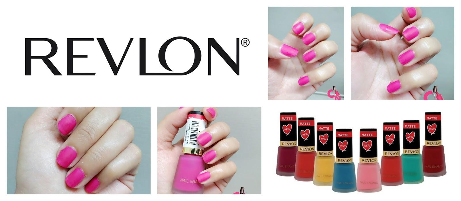 Revlon Matte Nail Polish Collection- Crimson Matte: Review & Swatches