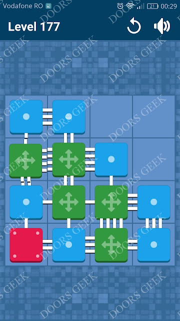 Connect Me - Logic Puzzle Level 177 Solution, Cheats, Walkthrough for android, iphone, ipad and ipod