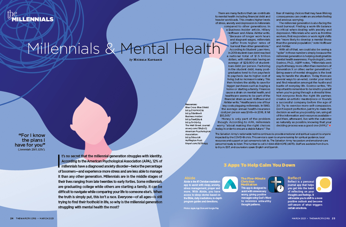 I Wrote An Article: Millennials & Mental Health