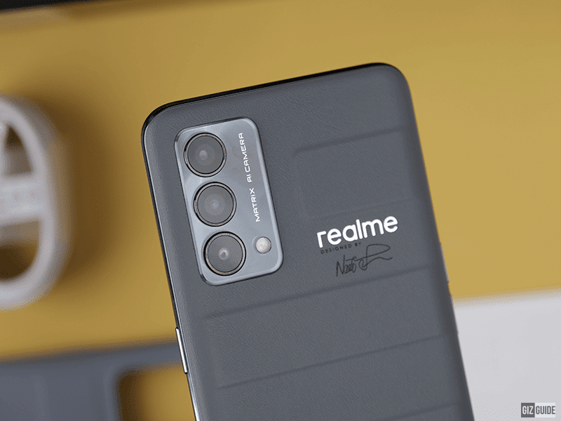 realme GT Master Edition designed by Naoto